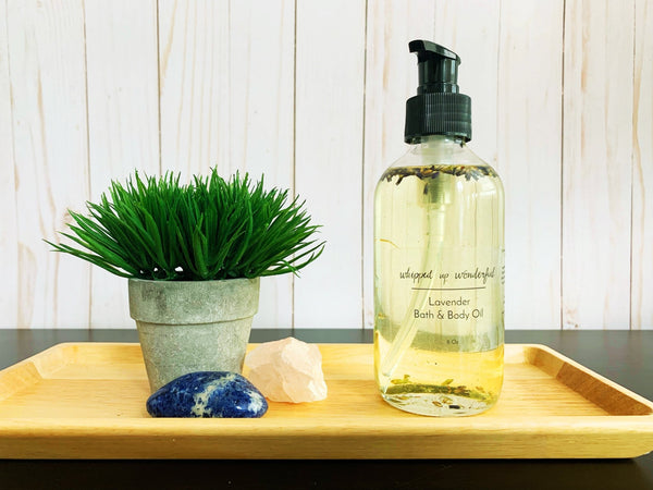 Lavender Bath & Body Oil - Whipped Up Wonderful