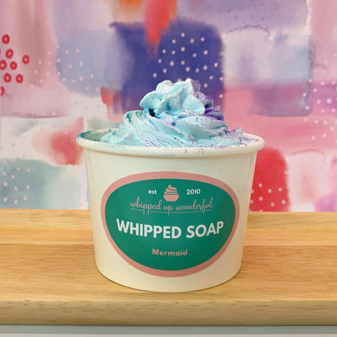 Mermaid Whipped Soap - Whipped Up Wonderful