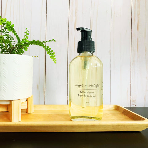 Milk and Honey Bath & Body Oil - Whipped Up Wonderful