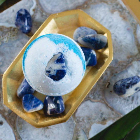 Sodalite Bath Bomb - Whipped Up Wonderful