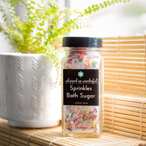 Sprinkles Bath Sugar - Whipped Up Wonderful