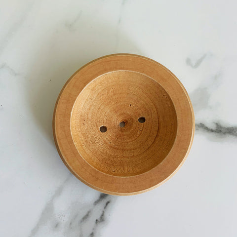 Wooden Soap Dish - Whipped Up Wonderful