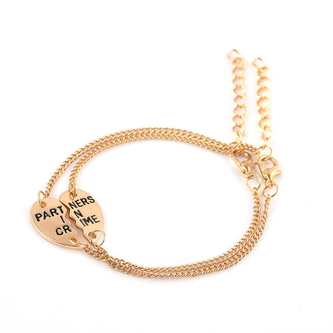 Partners In Crime Bracelet