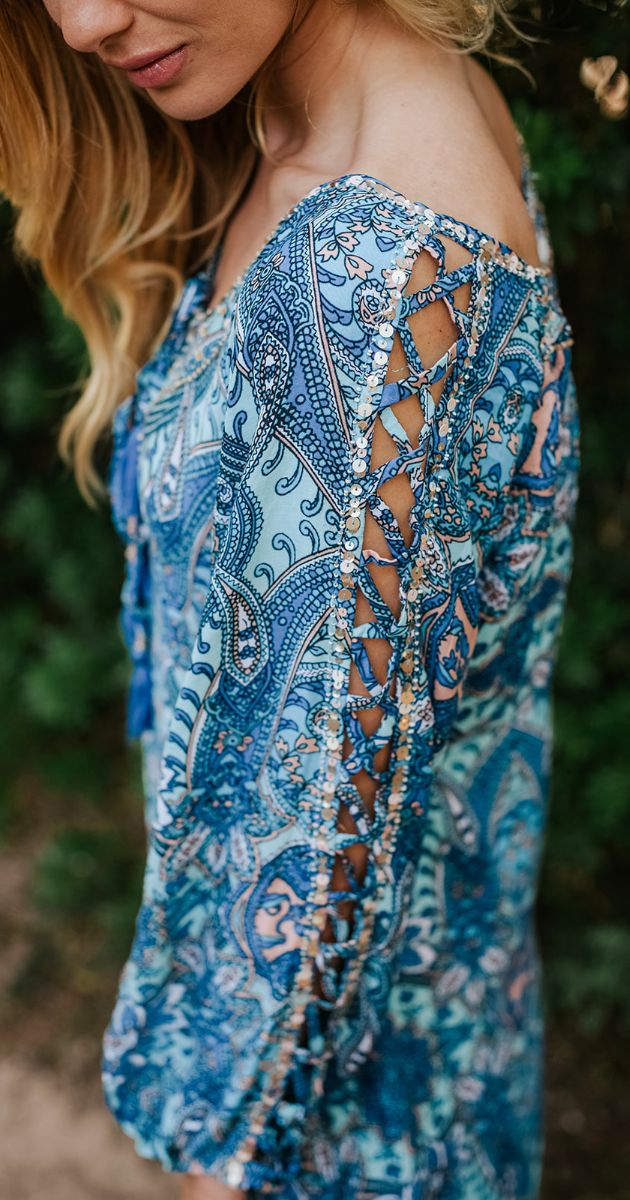 Long Paisley Tunic Leda