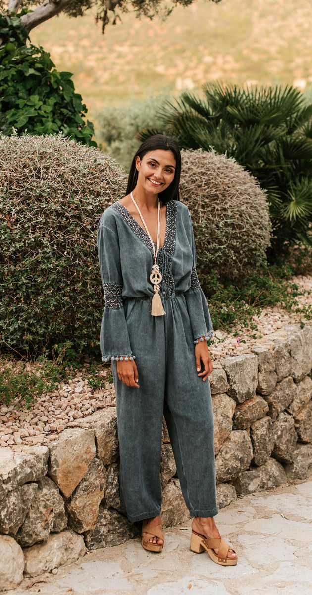 Mina Long Jumpsuit