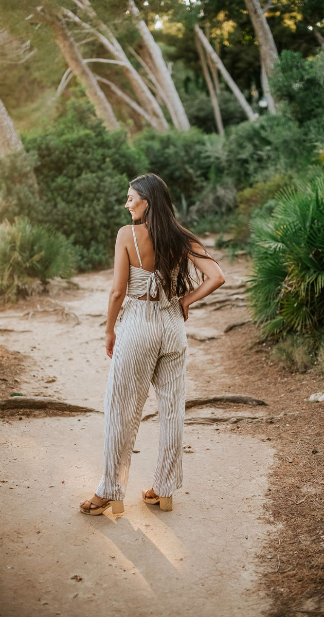 Long Jumpsuit Rosa