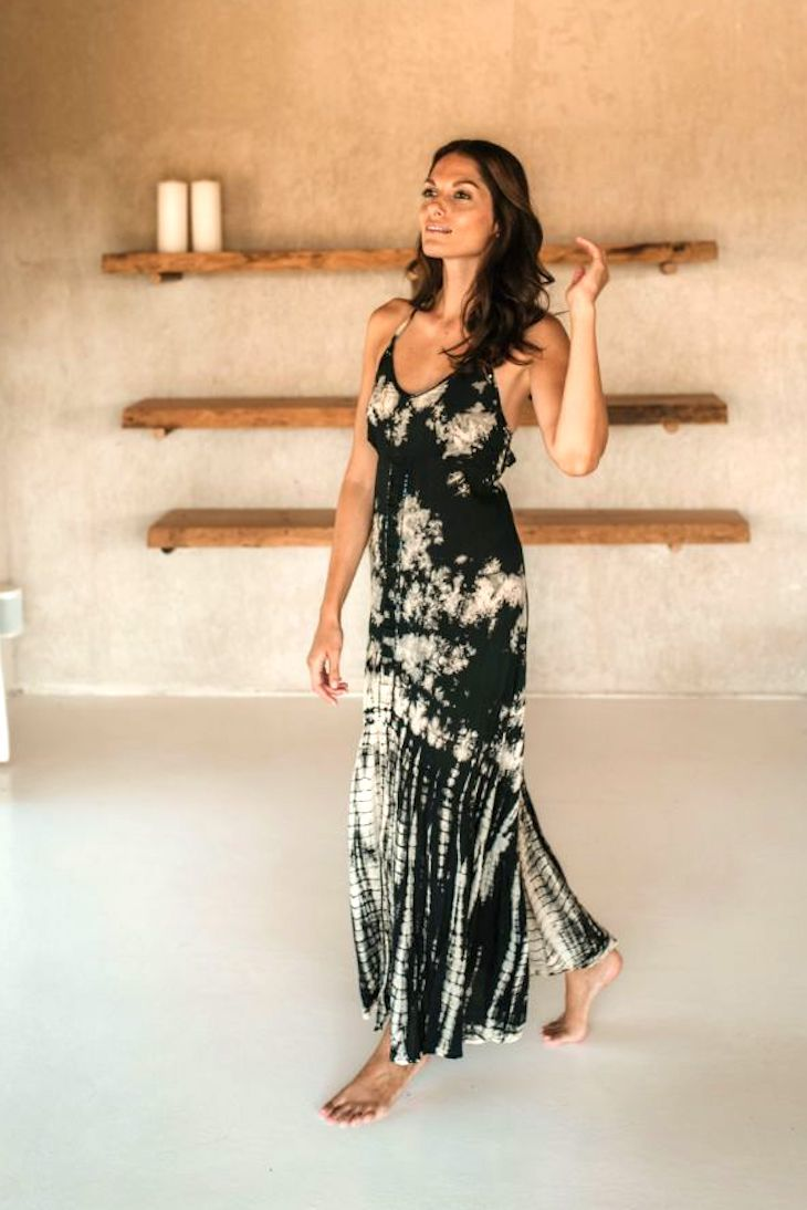 HARMONY LONG DRESS // ETHNICA TIE DYE