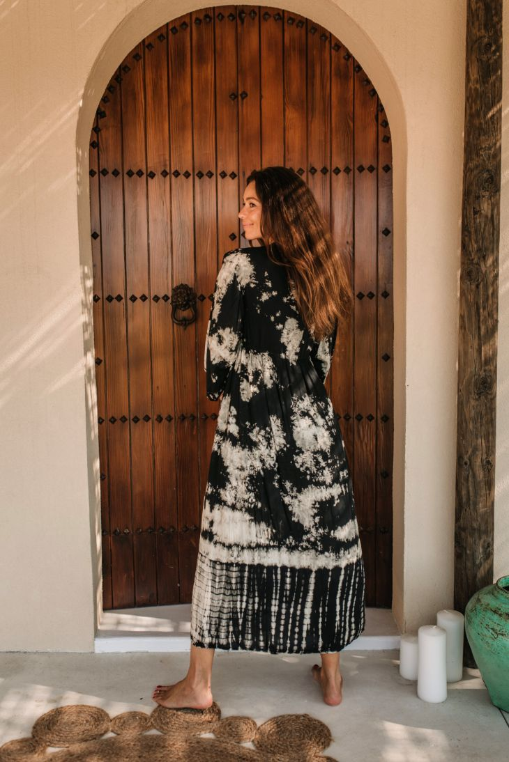 CHENOA DUSTER DRESS // ETHNICA TIE DYE