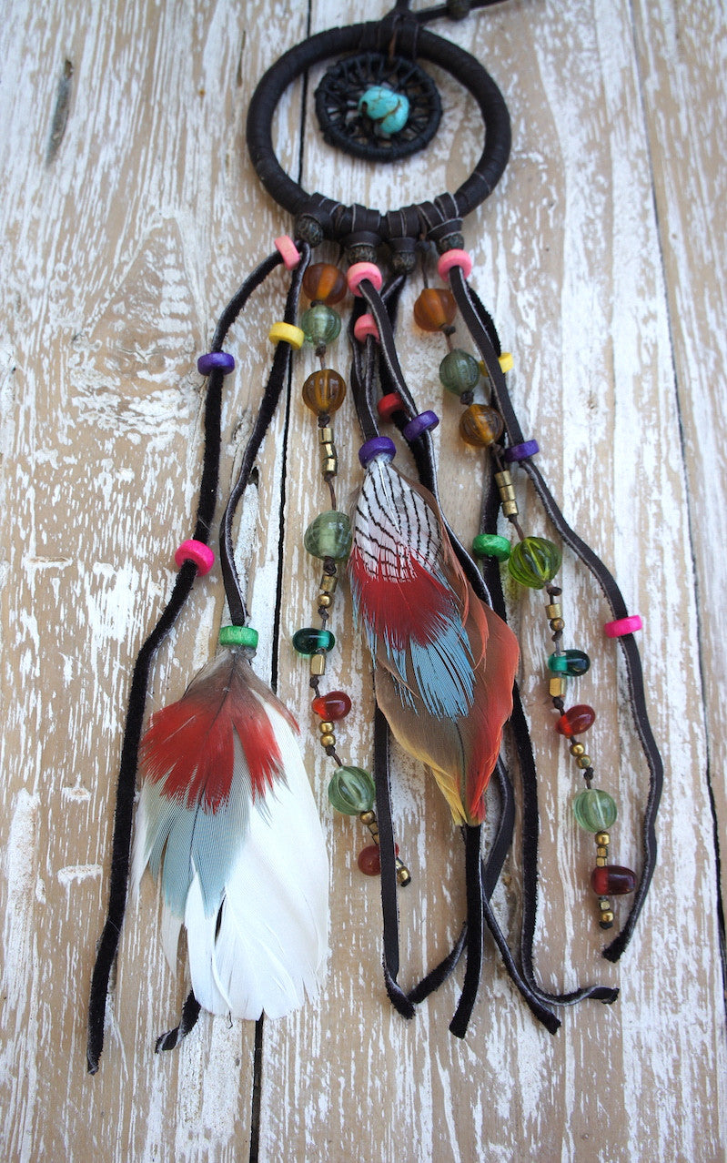 Dreamcatcher Feather Necklace