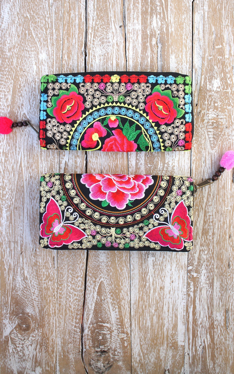 Lotus Gypsy Purse