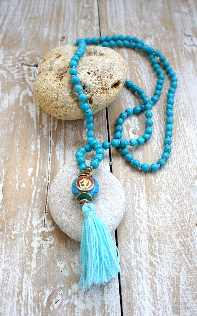 Antique Stone Mala