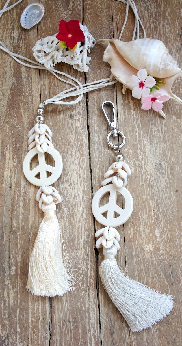 Bag Deco Shells & Peace