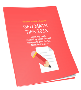GED Math Tips 2018