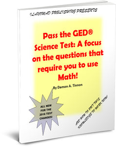 Special GED Science Test Workbook Offer!