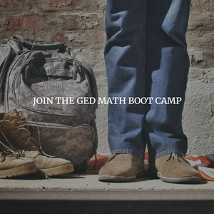 GED Math Boot Camp - Saturday, June 22, 2019 - 9am - 1pm (PDT)