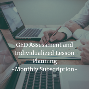 GED Assessment and Individualized Lesson Planning