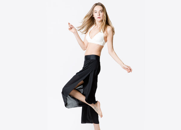 ZARIE INSIDE Wide Pants twist - Online Leggings Hong Kong