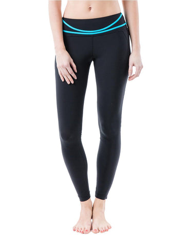 Dream leggings blue front - Zarie Leggings Online Hong Kong