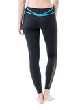 Dream leggings blue back