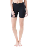 Zarie dream shorts front black - Online Leggings Hong Kong