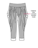 ZARIE INSIDE Harem Pants Design Concept - Leggings Online Hong Kong