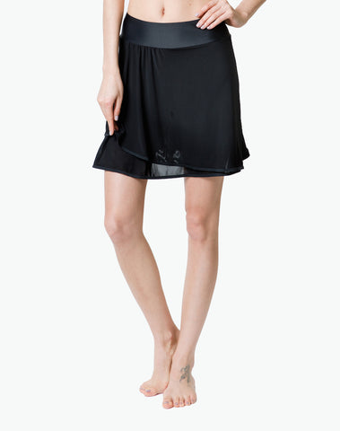 ZARIES INSIDE Double mesh skirt front - Leggings Online Hong Kong