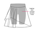 ZARIES INSIDE Double mesh skirt design - Leggings Online Hong Kong