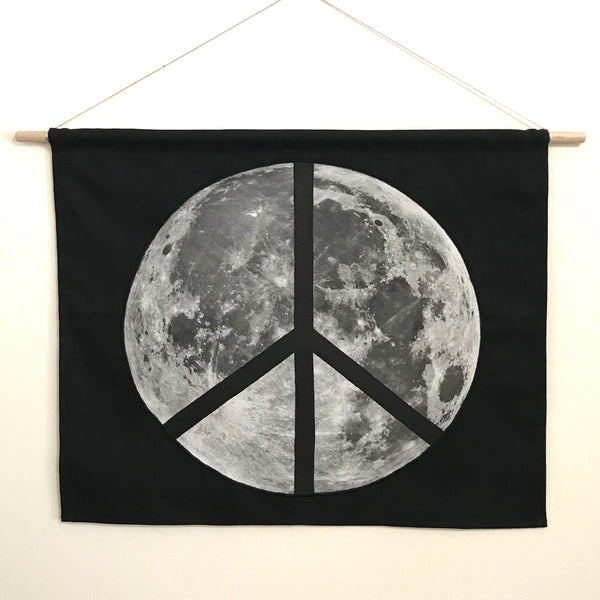 Peace Moon Wall Hanging