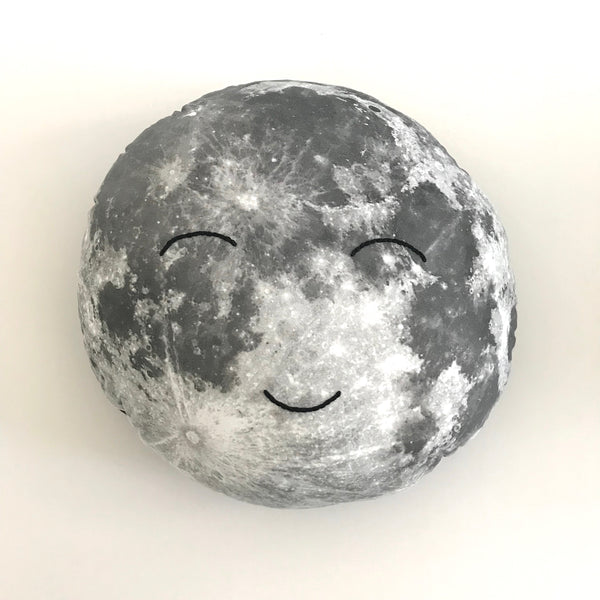 Large Happy Moonface Cushion (Style 2)