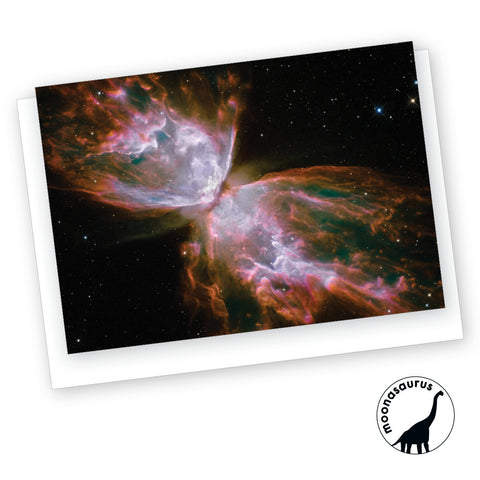 Butterfly Nebula Greeting Card