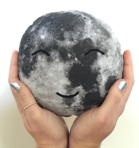 Moonface Cushion (Style 2)