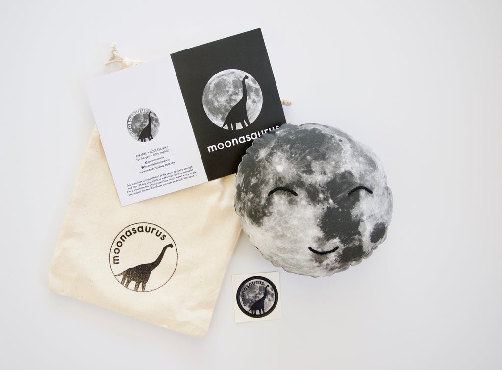 Moonface Cushion