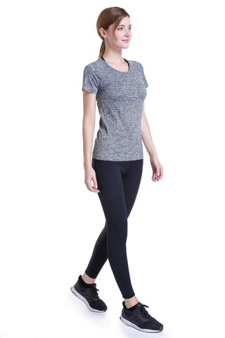 Woman Hyper T-Shirt Soft Snug | Hot Slimming Workout Shirt