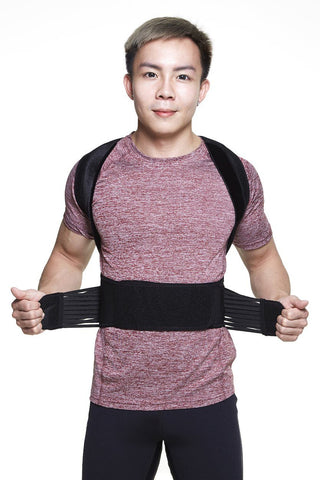 Men TheraFit Soft Snug | Back Posture Corrector & Support