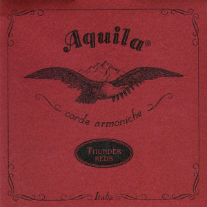 ukulele-trading-co-australia - AQ91U Aquila Thundergut RED 4 Strings UBASS. - Aquila - Strings