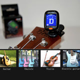 ukulele-trading-co-australia - Ukulele Tuner also tunes Acoustic / Electric Guitars, Violin, Bass, Banjolele - 1tree outdoor Store - Guitar Parts & Accessories