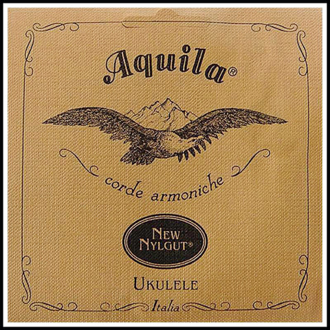AQ8U Aquila Concert Low G Ukulele Strings  Set of 4 strings Gcea