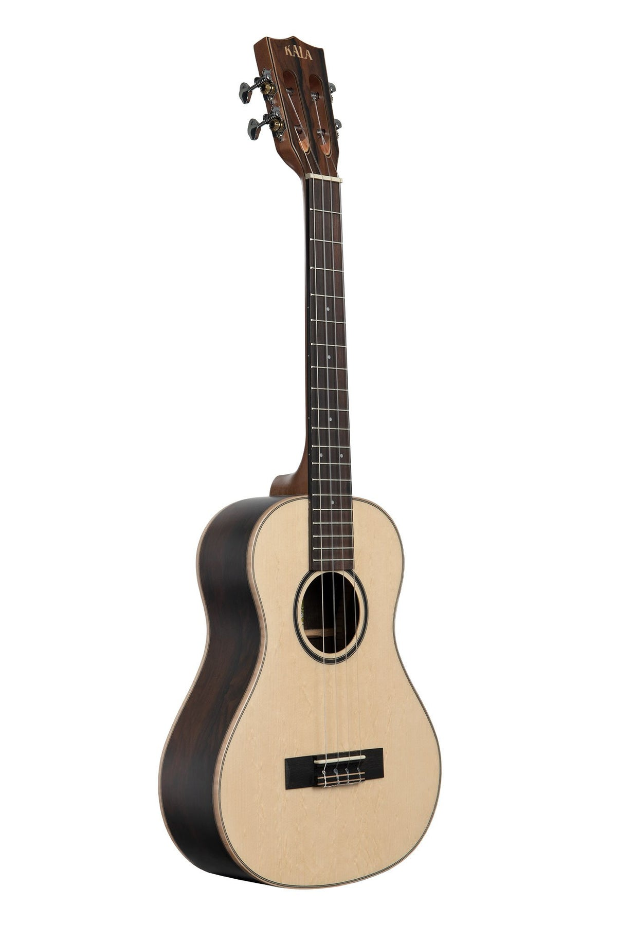 KA-ASZCT-ST Kala Super Tenor Solid Spruce Top Zircote back and Sides.