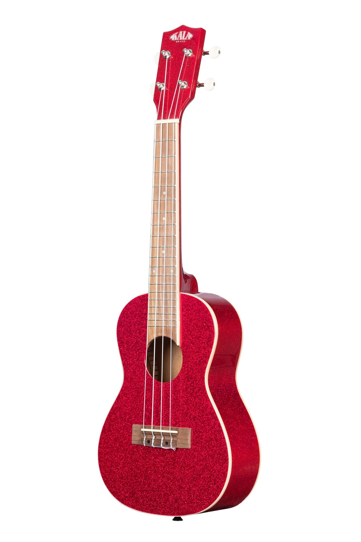 KA-SPRK-RED Kala Sparkle Series RITZY RED CONCERT UKULELE