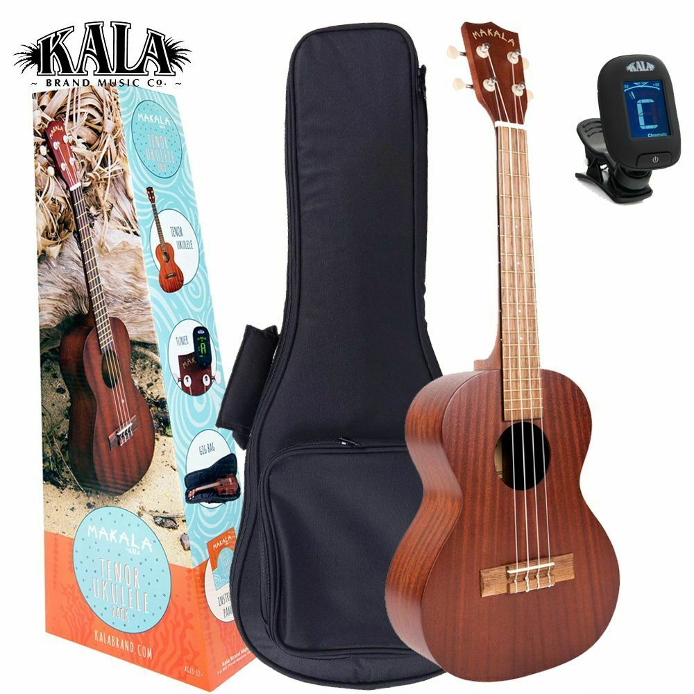 MK-C/Pack MAKALA by KALA CONCERT PACK Includes Gig-Bag, Tuner. Ukulele Trading Co Australia