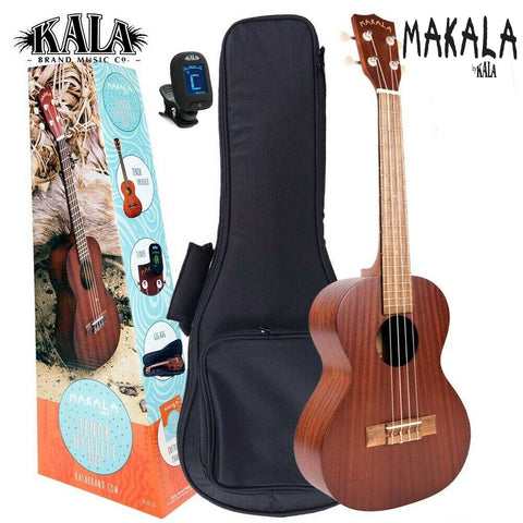MK-T/Pack Ukulele Kit Tenor Makala By Kala Ukulele Trading Co Australia