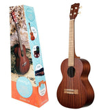MK-T/Pack MAKALA by KALA TENOR KIT Includes Gig-Bag, Tuner. Ukulele Trading Co Australia