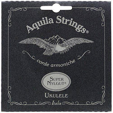 ukulele-trading-co-australia - Aquila Super Nylgut Tenor Low G Ukulele Strings AQ107U Set 4 Strings - Aquila - Strings