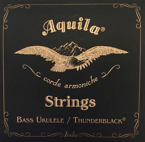 ukulele-trading-co-australia - AQ140U Thunder Black UBass 4 String Set  EADG Tuning - Aquila - Strings