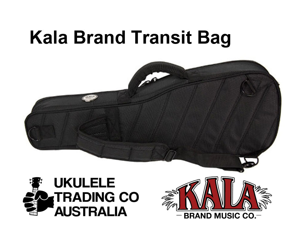 TSUB-B Transit Bag Baritone Ukulele Size. To call this simply a 'Gig-Bag' is seriously understating just how solid and stiff and protective a Transit Bag is. Ukulele Trading Co Australia