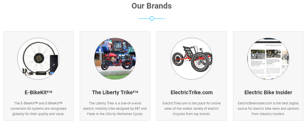 The Brands of Electric Bike Technologies LLC