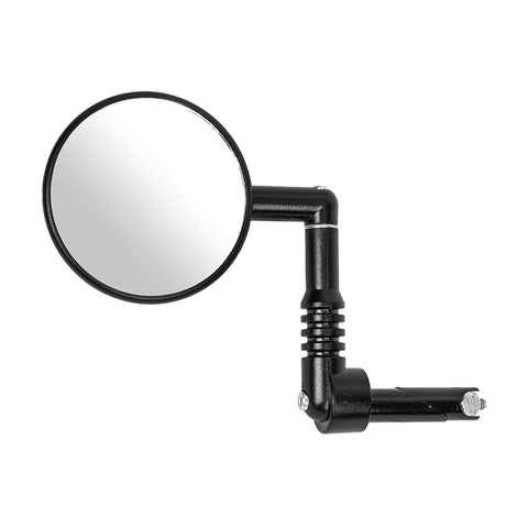 Three inch bar end recumbent trike mirror