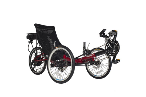 Sun Seeker T3 CX Electric Trike, Red color