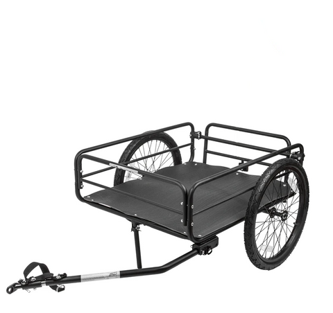 Cargo Trailer and Hitch Assembly