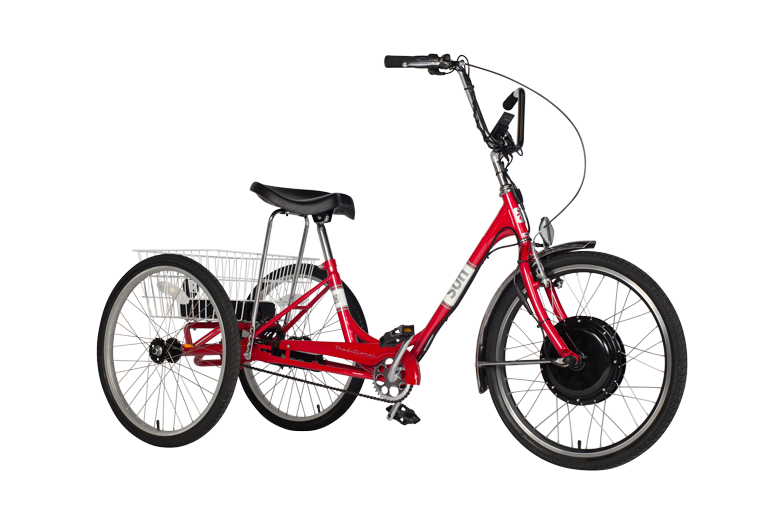The Sun Traditional 24 adult tricycle is a perfect for recreational trike riders.